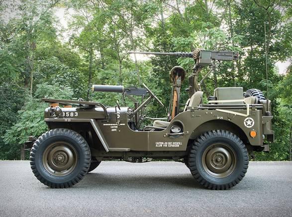 Jeep 1951 Willys M38 - Imagem - 3
