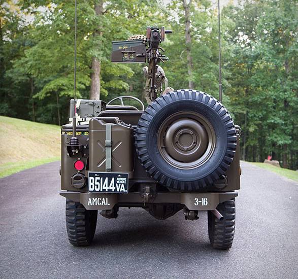 Jeep 1951 Willys M38 - Imagem - 5