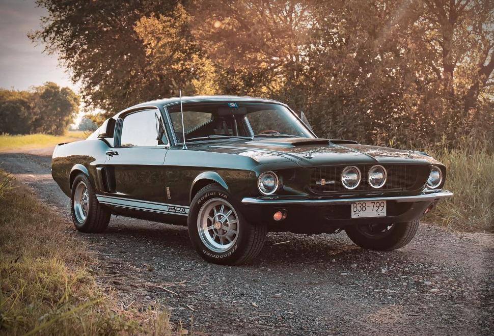 Shelby Mustang GT350 - 1967 - Imagem - 1