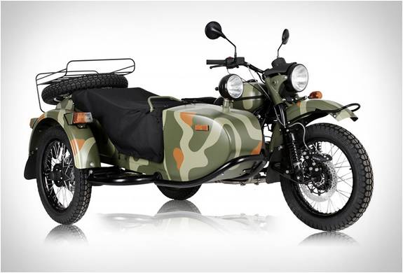 MOTO SIDE-CAR 2015 URAL GEAR-UP - Imagem - 2