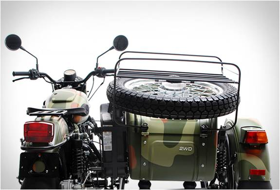 MOTO SIDE-CAR 2015 URAL GEAR-UP - Imagem - 3