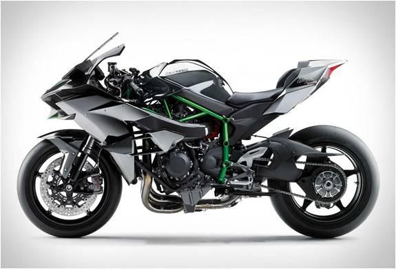 Kawasaki H White Color
