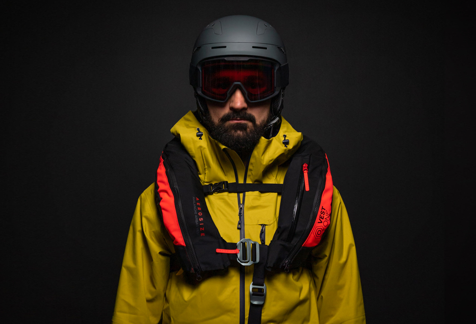 Colete salva vidas com airbag - AEROSIZE AVALANCHE VEST - Imagem - 1