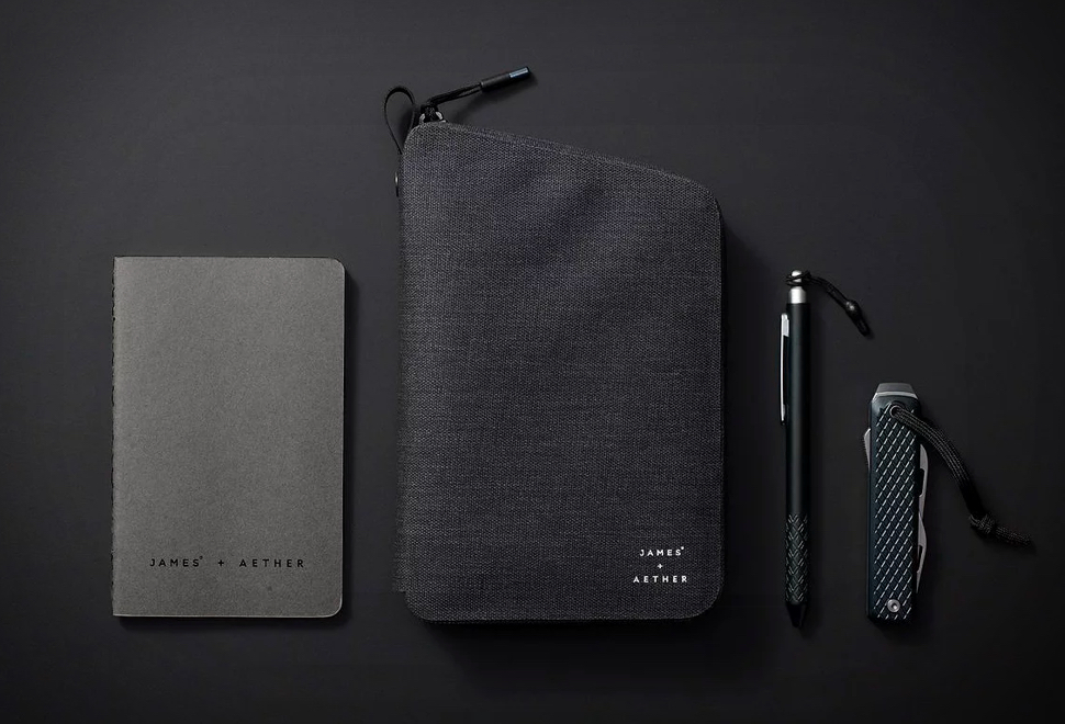 Kit de Viagem Aether x James Brand EDC