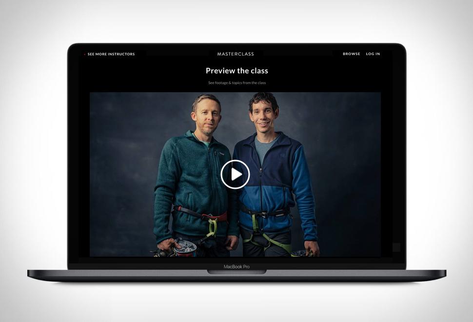 Alex Honnold & Tommy Caldwell Teach Rock Climbing - Imagem - 1