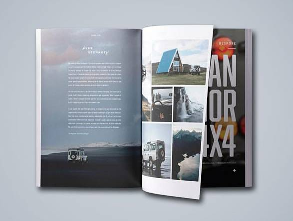 Revista Alloy + Grit - para Entusiastas da Land Rover - Imagem - 2