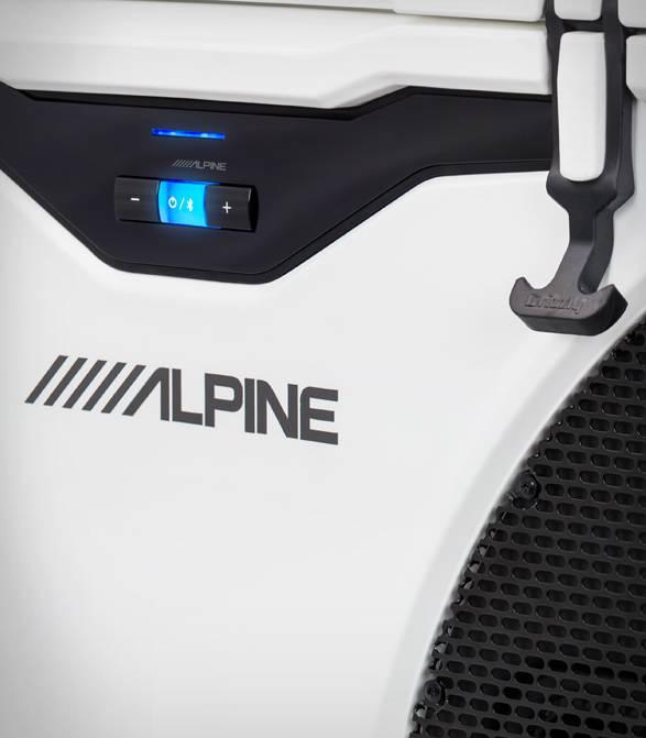 Sistema de Refrigerador e Alto-falante ICE Alpine - Imagem - 3