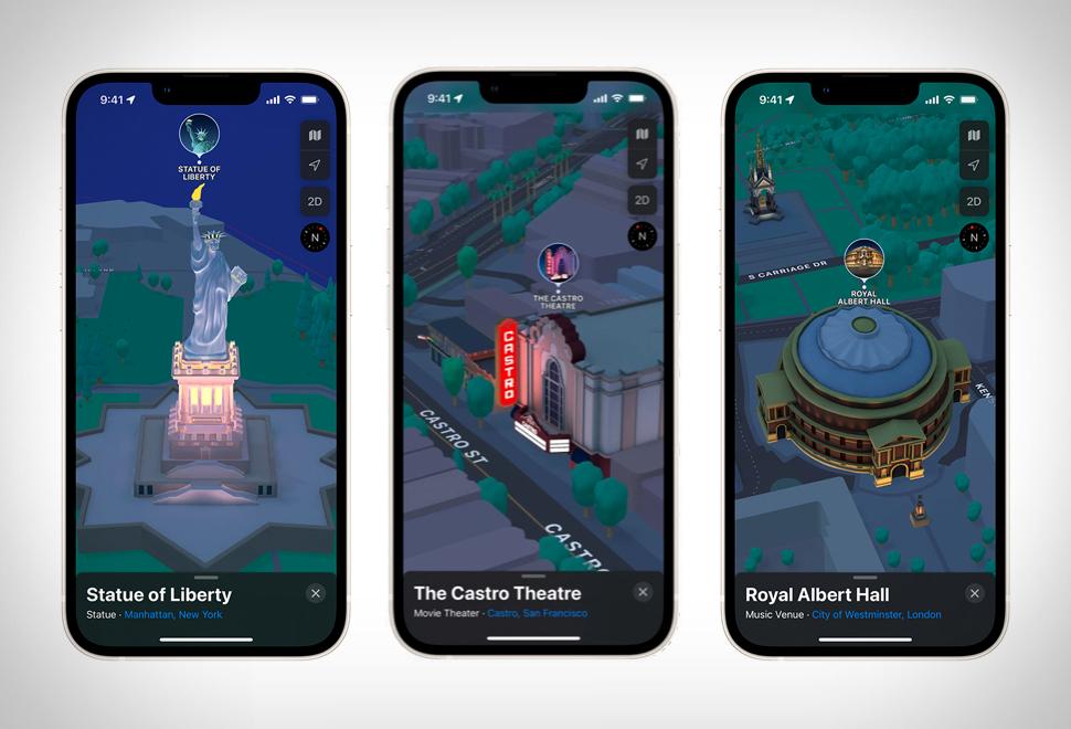Experiência Tridimensional - Apple Maps 3D View - Imagem - 1