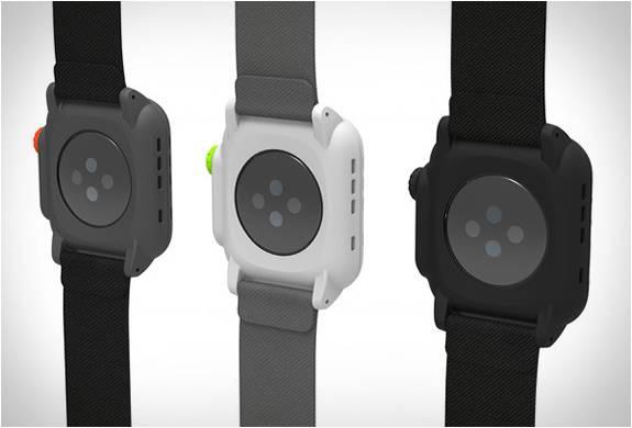 Capa Impermeável e Totalmente Funcional para o Apple Watch - Imagem - 4