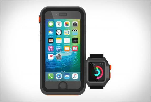 Capa Impermeável e Totalmente Funcional para o Apple Watch - Imagem - 5