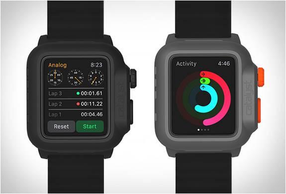 Capa Impermeável e Totalmente Funcional para o Apple Watch