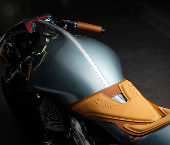 Moto Aston Martin AMB 001 Motorcycle - Imagem - 2