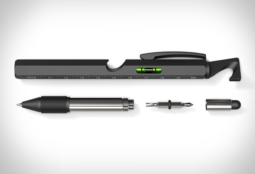 Caneta Ferramenta Atech 9-in-1 Tool Pen - Imagem - 1