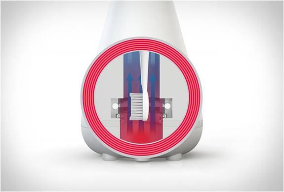 Sistema de Limpeza Aura - Tecnologia de Ultra-Som para Higiene Dental - Imagem - 3