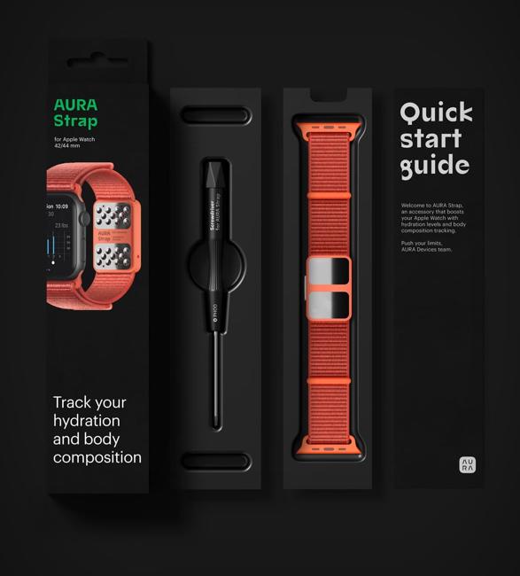 Pulseira Inteligente para Apple Watch - AURA STRAP - Imagem - 4