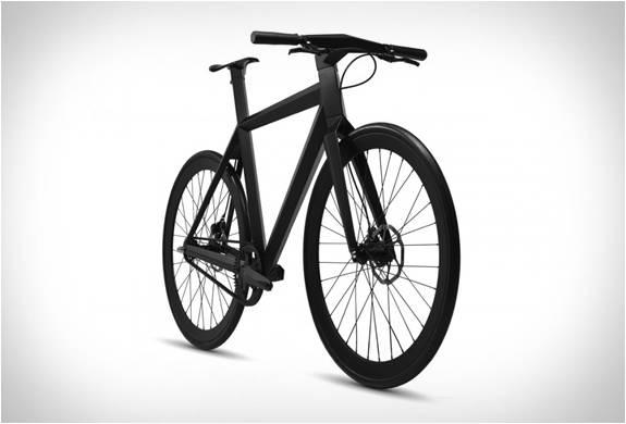 BICICLETA MINIMALISTA URBANA - B-9 NH BLACK EDITION BICYCLE - LAMBORGHINI DAS BICICLETAS - Imagem - 2