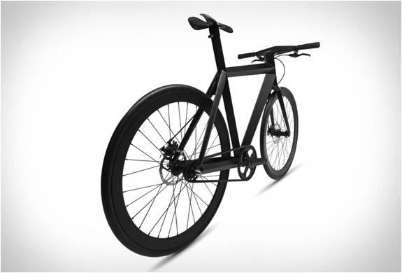 BICICLETA MINIMALISTA URBANA - B-9 NH BLACK EDITION BICYCLE - LAMBORGHINI DAS BICICLETAS - Imagem - 3