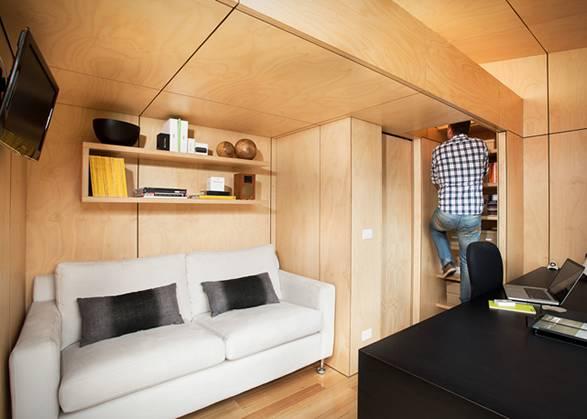Arquitetura - Quarto Pré-Fabricado - Backyard Room - Imagem - 2