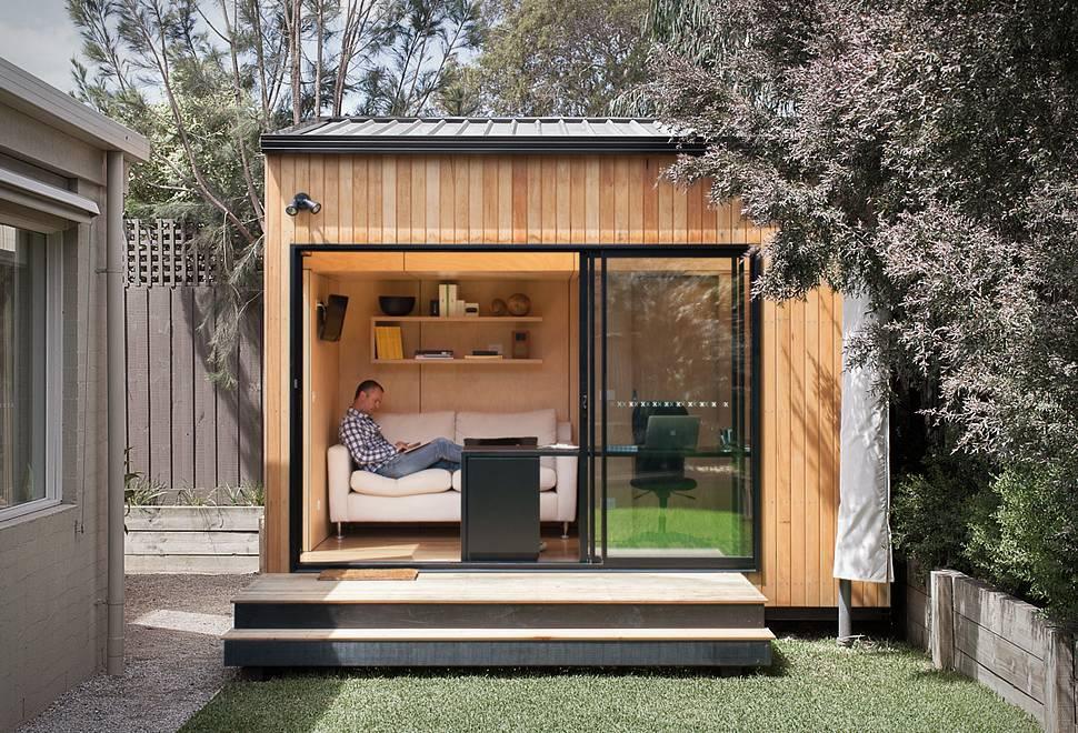 Arquitetura - Quarto Pré-Fabricado - Backyard Room