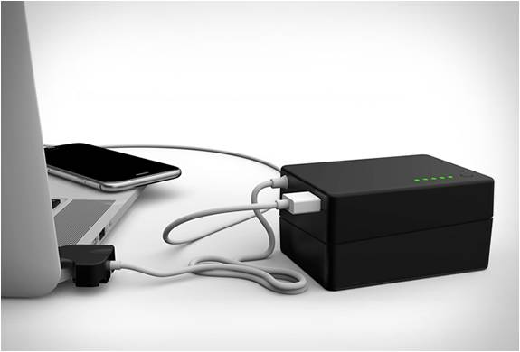 BATERIA PORTÁTIL PARA MACBOOK E IPHONE - BATTERYBOX - Imagem - 3