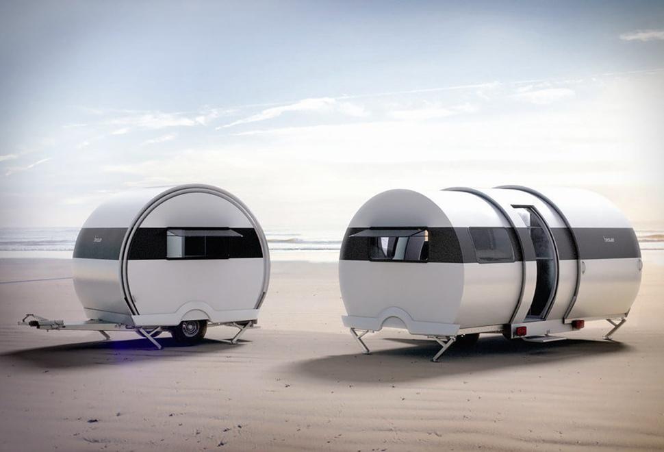 Trailer de Acampamento Compacto - BeauEr 3X Camper - Imagem - 1