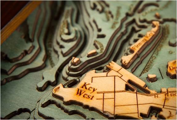 QUADROS EM MADEIRA - BELOW THE BOAT WOOD CHARTS - Imagem - 5