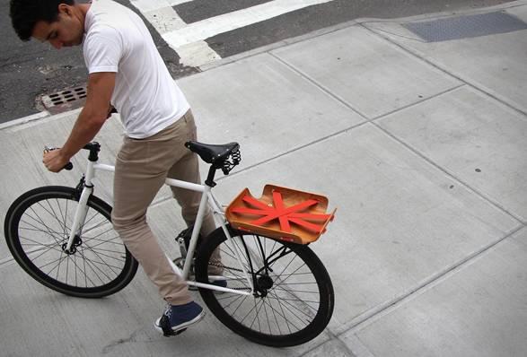 Bagageiro para Bicicleta Bent Basket - Imagem - 5