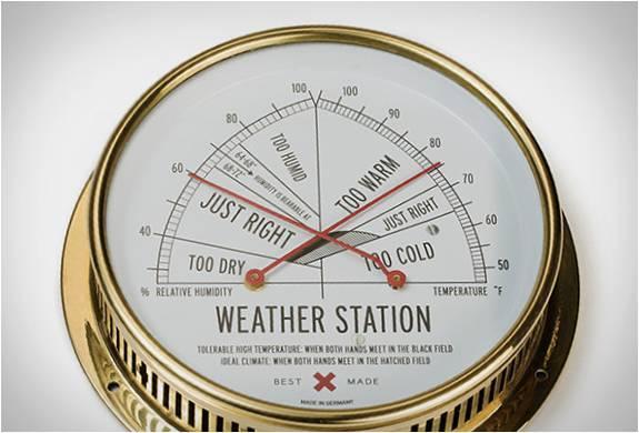 Estação Meteorológica | Best Made - Imagem - 4