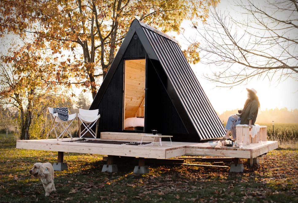 Cabana Portátil pré-fabricada Bivvi - Imagem - 1