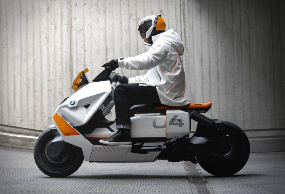 Scooter Elétrica BMW Definição CE 04 - Imagem - 1