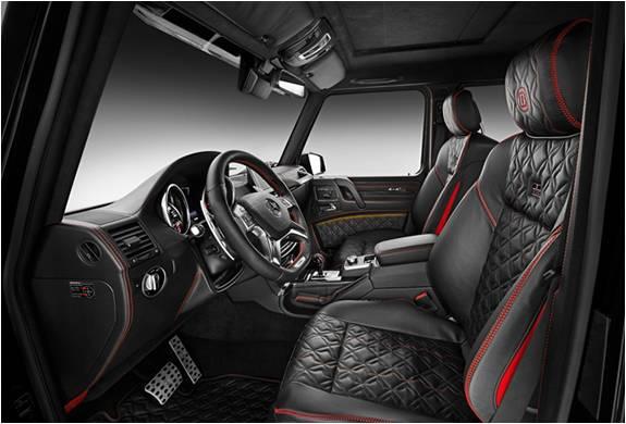 Brabus Mercedes G500 4x4 - Imagem - 5