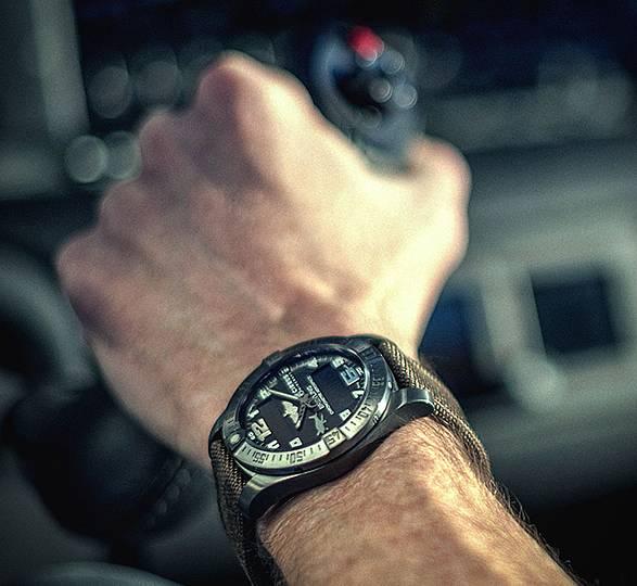 Relógio Aeroespacial Evo Cirrus Aircraft e Breitling - Imagem - 3