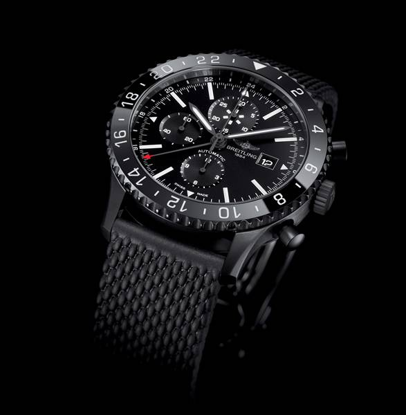Relógio Chronoliner Blacksteel | Breitling - Imagem - 2