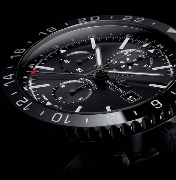 Relógio Chronoliner Blacksteel | Breitling - Imagem - 3
