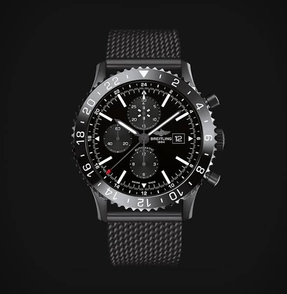 Relógio Chronoliner Blacksteel | Breitling - Imagem - 4