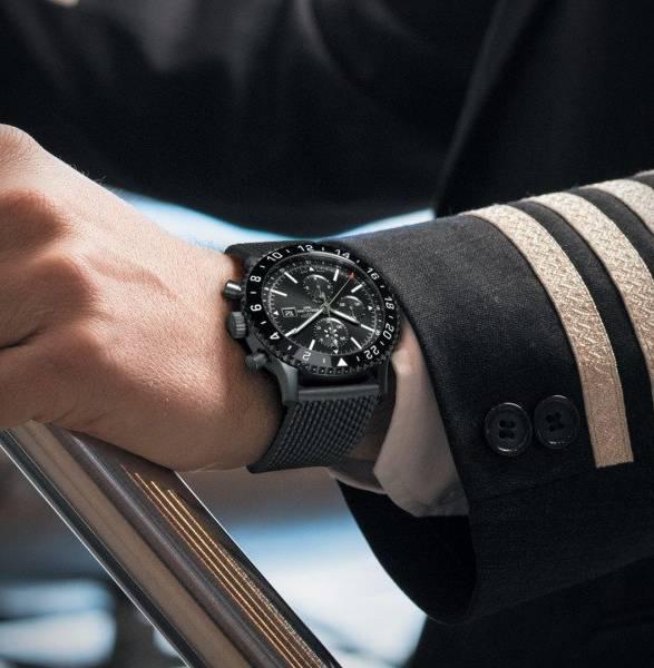 Relógio Chronoliner Blacksteel | Breitling - Imagem - 5