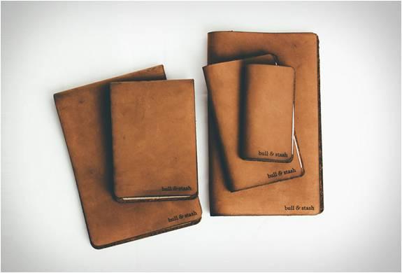CADERNO DE COURO BULL & STASH NOTEBOOKS - Imagem - 5