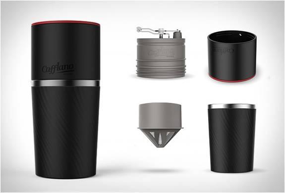 Cafflano - máquina de café portátil com moedor - Imagem - 1