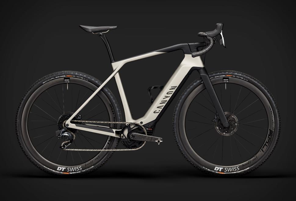 Bicicleta elétrica Canyon Grail - Imagem - 1