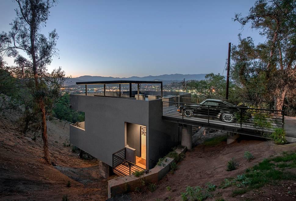 Arquitetura - Casa Parque de Estacionamento - Imagem - 1