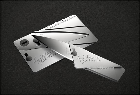 CARTÃO CANIVETE CARDSHARP 4 - Imagem - 2