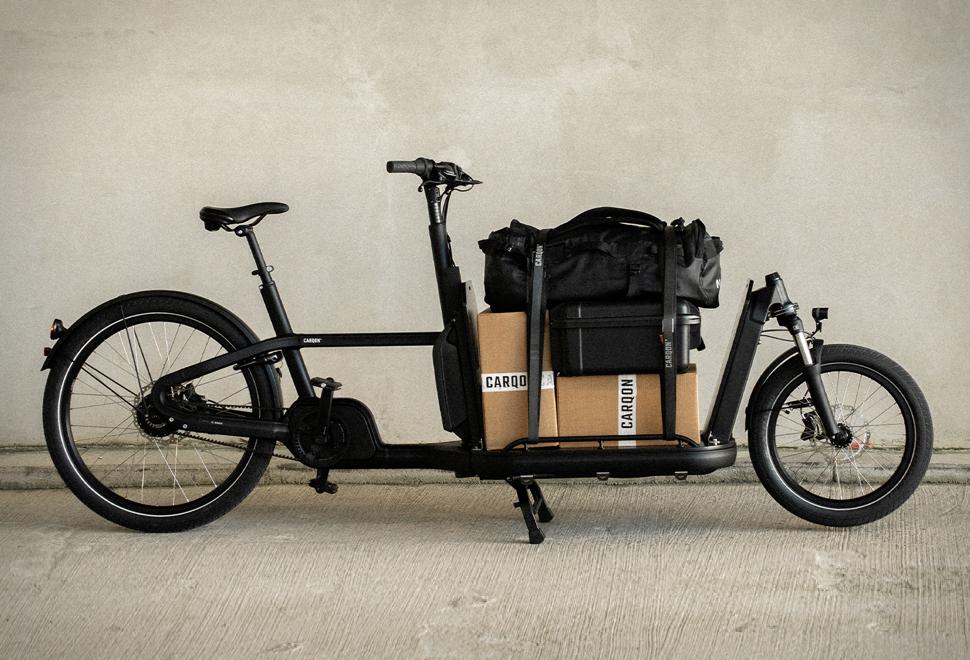 Bicicleta Elétrica de Carga de Última Geração - Carqon Flatbed eBike