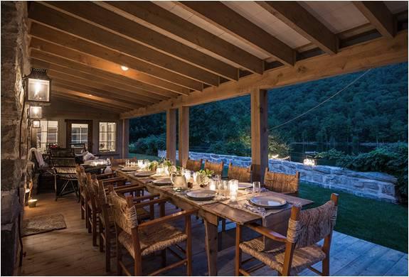 Casa de campo r stica new york - Chimeneas rusticas para casas de campo ...