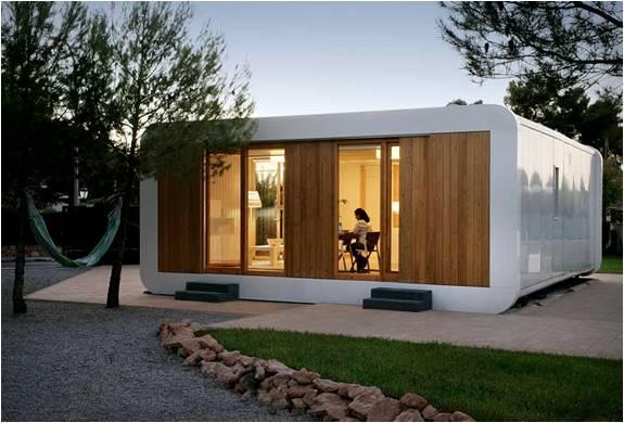 Casas pr fabricadas de alta tecnologia noem - Casas contenedor espana ...