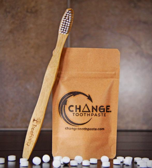 Pasta de Dente Sem Plástico - Change Plastic-Free Toothpaste - Imagem - 3