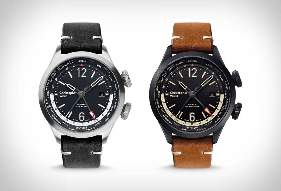 Relógio C8 UTC Worldtimer   Christopher Ward