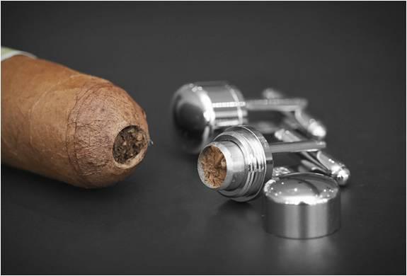 BOTÕES PARA CHARUTO - CIGAR PUNCH CUFFLINKS - Imagem - 2