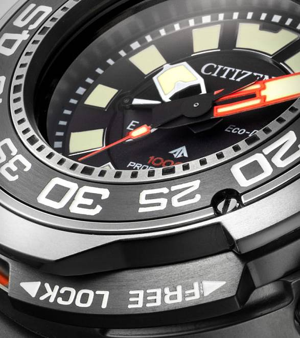 Relógio Mergulhador Profissional Citizen Eco-Drive - Imagem - 4