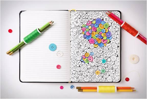 Coloring Notebook | Caderno para Colorir - Imagem - 3