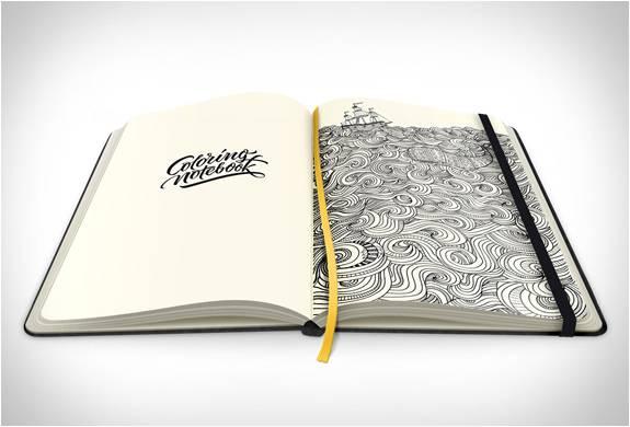 Coloring Notebook   Caderno para Colorir - Imagem - 1